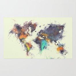 world map 106 #worldmap #map Rug