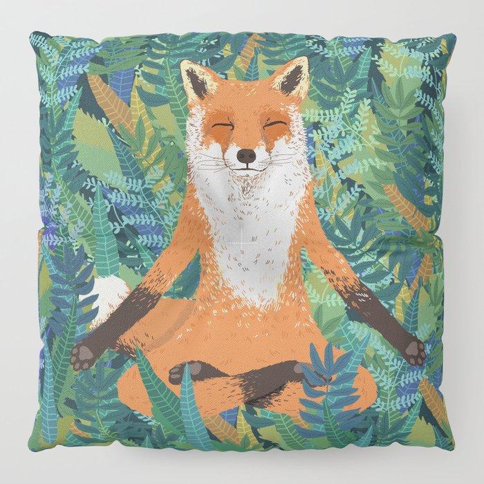 Fox Yoga Floor Pillow