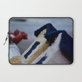 Wolly Beach House Laptop Sleeve