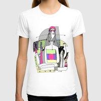 socks T-shirts featuring Funny socks by Zinaida Kazantseva