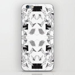 Spikey Line Triangles  iPhone Skin