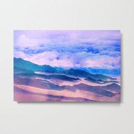 Blue Mountains Land Metal Print