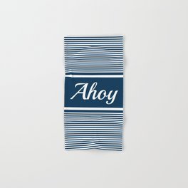 Ahoy Hand & Bath Towel