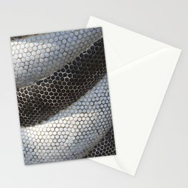 Hexagonal Snake Mosaic Stationery Cards