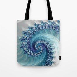 Sound of Seashell - Fractal Art Tote Bag