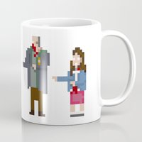 shaun of the dead Mugs featuring 8-bit Shaun of The Dead by MrHellstorm