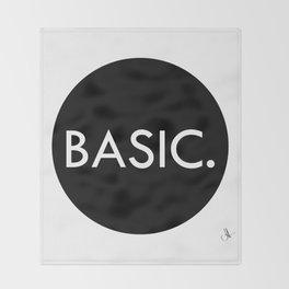 Basic Throw Blanket