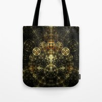 matrix Tote Bags featuring Matrix by Eli Vokounova
