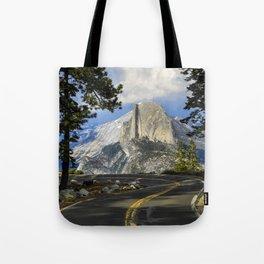 Yosemite Road To Half Dome   6-5-19 Tote Bag
