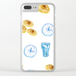 Lazy Sunday morning Clear iPhone Case
