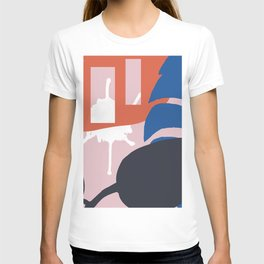 TROPIC ABSTRACT T-shirt