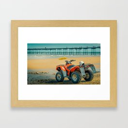Vintage Baywatch Framed Art Print
