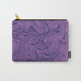Two-toned purple Agate Carry-All Pouch