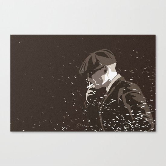 Peaky Canvas Print