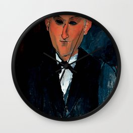 "Amedeo Modigliani ""Max Jacob"" Wall Clock"