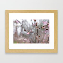 Life without love... Framed Art Print