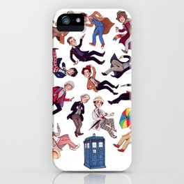 Who's who iPhone Case