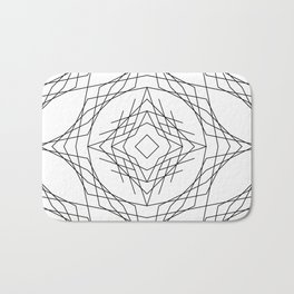 Geometric #11b Bath Mat