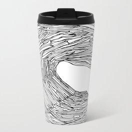 Drift wave Metal Travel Mug
