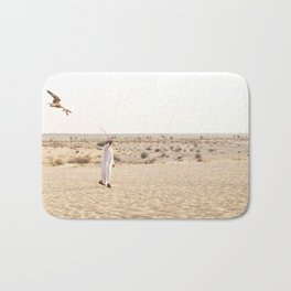Falconry in the Middle East Bath Mat