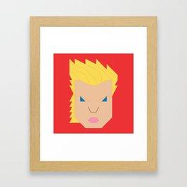 Captain.Marvel Framed Art Print