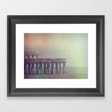 The Warm Winds Of Summer's Wreckage Framed Art Print