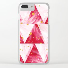Feather boa Clear iPhone Case