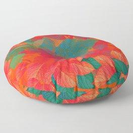 """Intense Pastel Hydrangeas-Passion"" Floor Pillow"