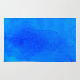 DARK BLUE WATERCOLOR BACKGROUND  Rug