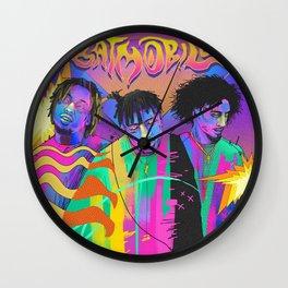 BATMOBILE---RAPPER Wall Clock