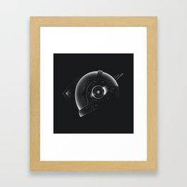 Space Helmet Framed Art Print