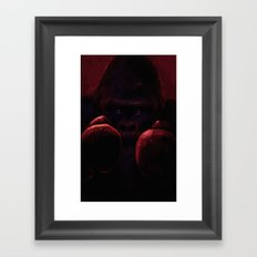 The Undefeated Framed Art Print
