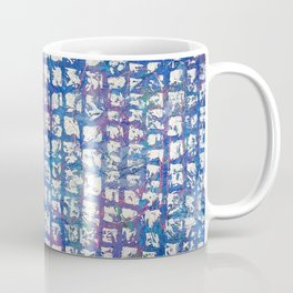 Abstract - Time is the Space Between You and Me Coffee Mug