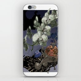 Orchids iPhone Skin