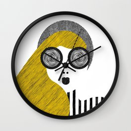 Spinning eyes Wall Clock