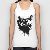 fight Tank Tops featuring fight by DIVIDUS