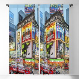 Times Square III Special Edition I Blackout Curtain