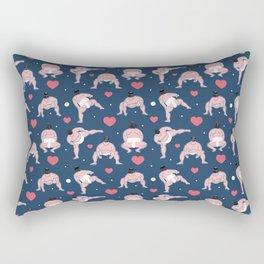 be my Valentine, sumo edition Rectangular Pillow