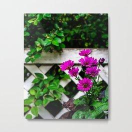 Flowers Make People Better Metal Print