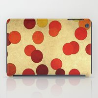 circles iPad Cases featuring Circles by SensualPatterns