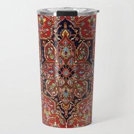 Heriz  Antique Persian Rug Print Travel Mug