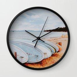 lets surf xxxii Wall Clock