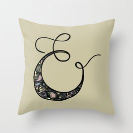 everyone loves an ampersand Throw Pillow