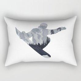 Snowboard Exposure SP | DopeyArt Rectangular Pillow