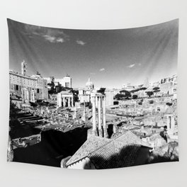 Rome in ruins Wall Tapestry