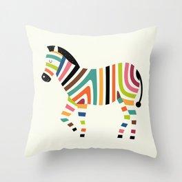 Magic code Throw Pillow