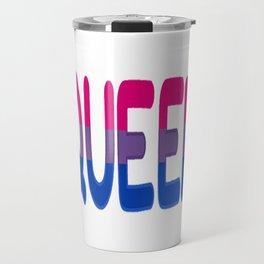 queer - bisexual Travel Mug
