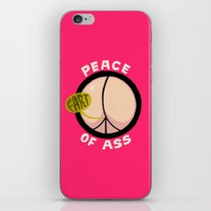 Peace of Ass iPhone & iPod Skin
