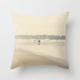 beach life III Throw Pillow