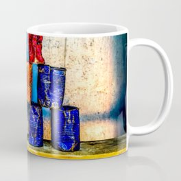 Soup Cans - Square Meal Coffee Mug